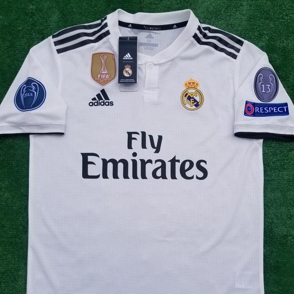 3cfc7c39198 adidas Shirts | 201819 Real Madrid Soccer Jersey Sergio Ramos | Poshmark